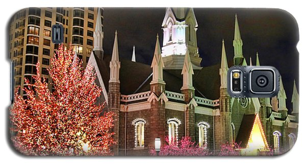 Galaxy S5 Case featuring the photograph Salt Lake Temple - 3 by Ely Arsha