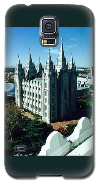 Salt Lake Temple The Church Of Jesus Christ Of Latter-day Saints The Mormons Galaxy S5 Case