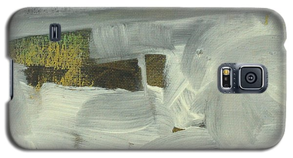 Galaxy S5 Case featuring the painting Salt Marsh C2013 by Paul Ashby
