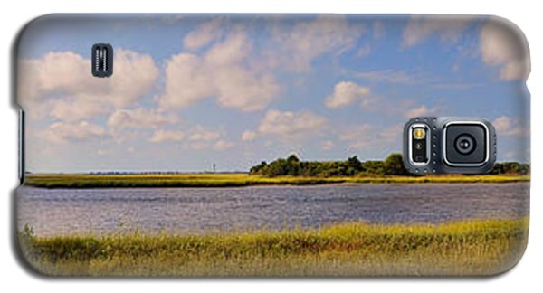 Salt Marsh Morning - Southport Galaxy S5 Case