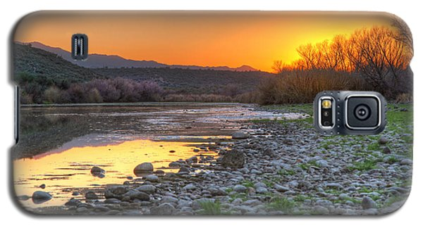 Salt River Bulldog Canyon Galaxy S5 Case by Martin Konopacki