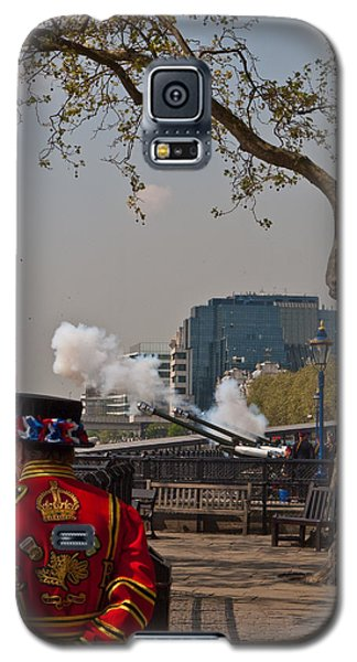 Salute For The Queen Galaxy S5 Case
