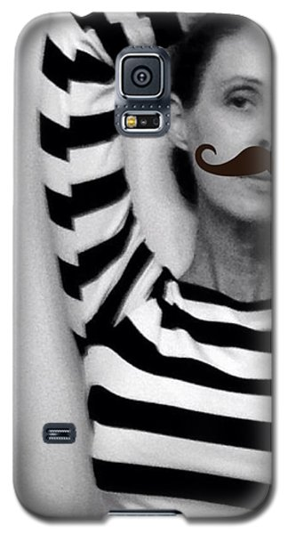 Galaxy S5 Case featuring the photograph Salvador Dali And Me by Lisa Piper