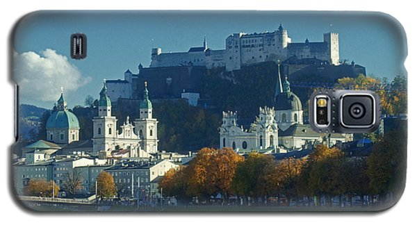 Galaxy S5 Case featuring the photograph Salzburg Austria In Fall by Rudi Prott