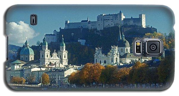 Salzburg Austria In Fall Galaxy S5 Case by Rudi Prott