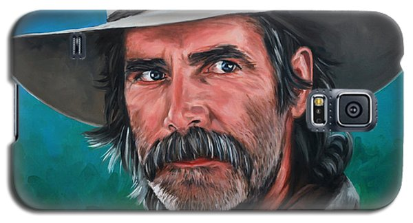 Galaxy S5 Case featuring the painting Sam by Rick McKinney