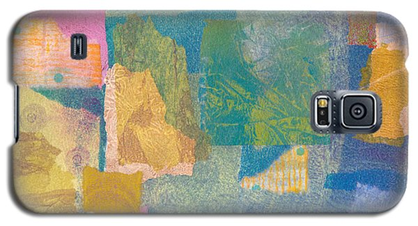 Galaxy S5 Case featuring the mixed media Samarkand by Catherine Redmayne