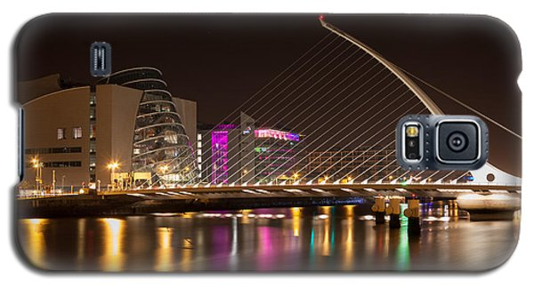 Samuel Beckett Bridge In Dublin City Galaxy S5 Case