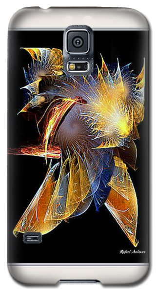 Galaxy S5 Case featuring the painting Samurai by Rafael Salazar