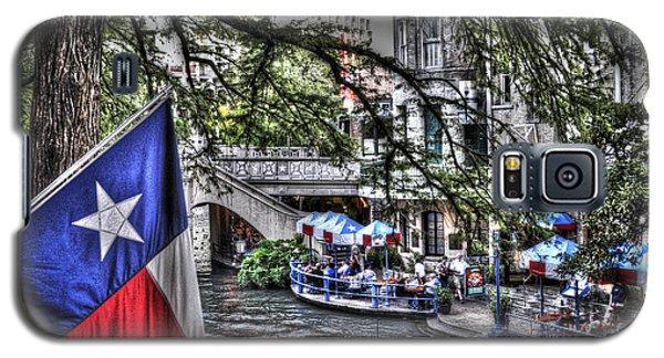 San Antonio Flag Galaxy S5 Case by Deborah Klubertanz