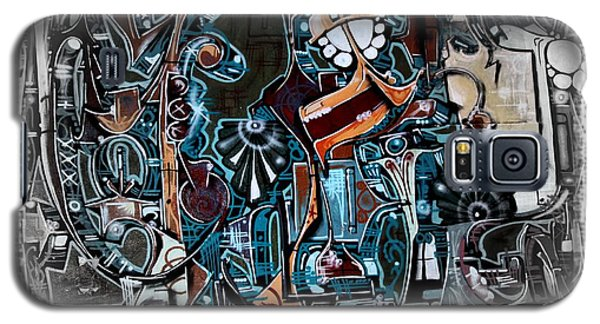 San Antonio Graffiti - No.8345 Galaxy S5 Case