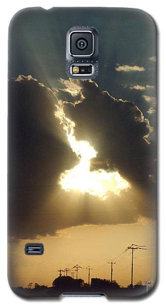 San Antonio Sunset Galaxy S5 Case by Peter Piatt
