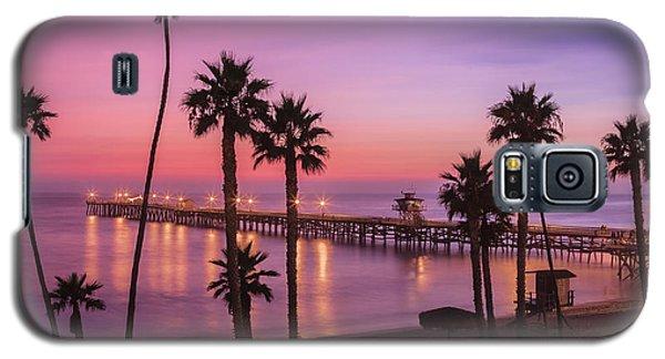 San Clemente Sunset Meditation Galaxy S5 Case