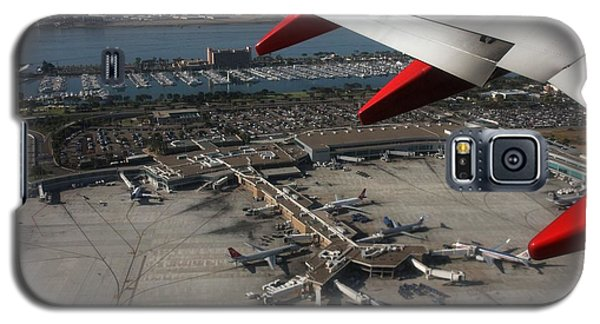 Galaxy S5 Case featuring the photograph San Diego Airport Plane Wheel by Nathan Rupert