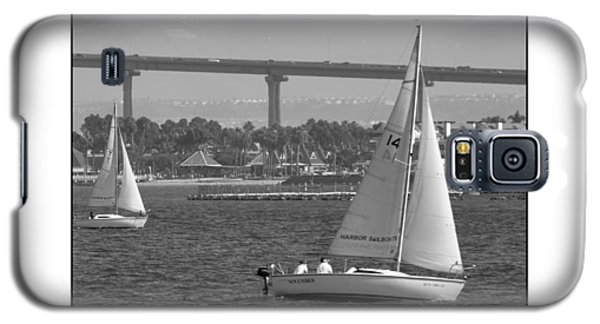 Galaxy S5 Case featuring the digital art San Diego Bay Sailing 1 by Kirt Tisdale