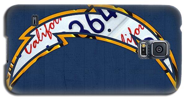 Sport Galaxy S5 Case - San Diego Chargers Football Team Retro Logo California License Plate Art by Design Turnpike