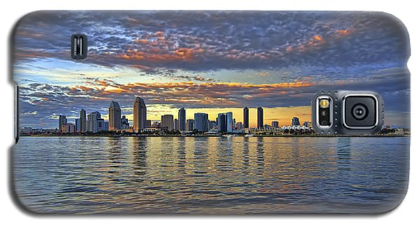 San Diego Colorful Clouds Galaxy S5 Case