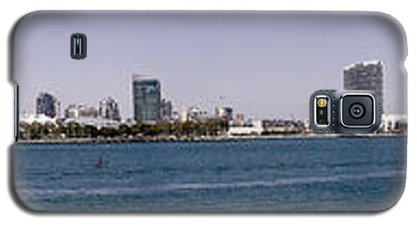 San Diego Panorama Galaxy S5 Case