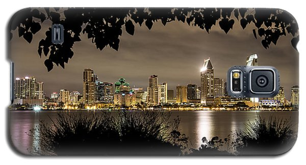 San Diego Skyline Framed 2 Galaxy S5 Case