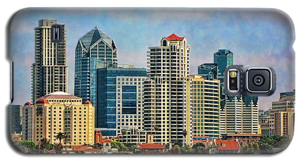 San Diego Skyline Galaxy S5 Case by Peggy Hughes