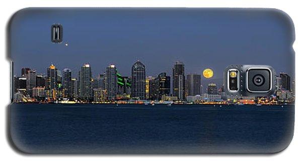 San Diego Super Moon Galaxy S5 Case