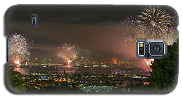 San Diego's 2014 Big Bay Boom July 4th Fireworks Galaxy S5 Case
