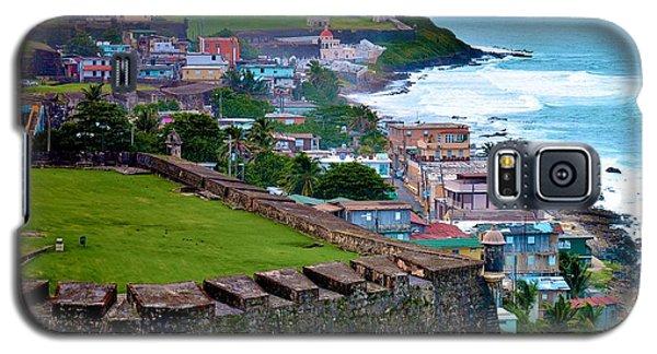 Galaxy S5 Case featuring the photograph San Felipe Del Morro Fortress From San Cristobal by Ricardo J Ruiz de Porras