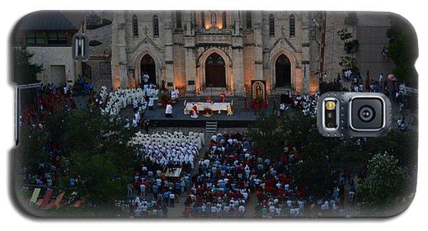 San Fernando Cathedral 001 Galaxy S5 Case by Shawn Marlow