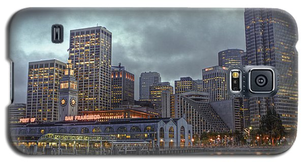 San Francisco Port All Lit Up Galaxy S5 Case