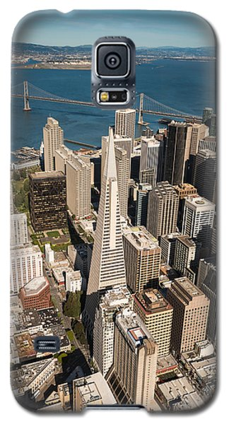 Helicopter Galaxy S5 Case - San Francisco Aloft by Steve Gadomski