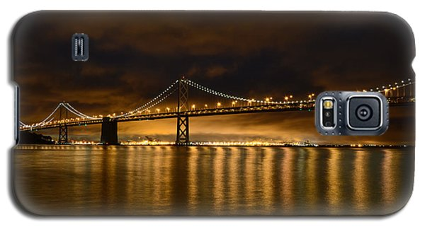 San Francisco - Bay Bridge At Night Galaxy S5 Case