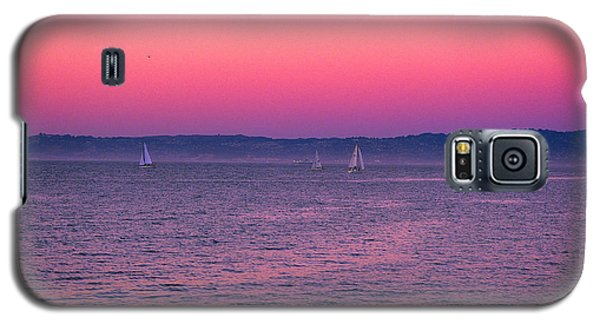 San Francisco Bay Sailing At Dusk Galaxy S5 Case
