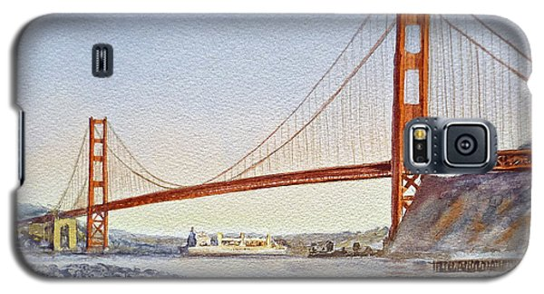 San Francisco California Golden Gate Bridge Galaxy S5 Case