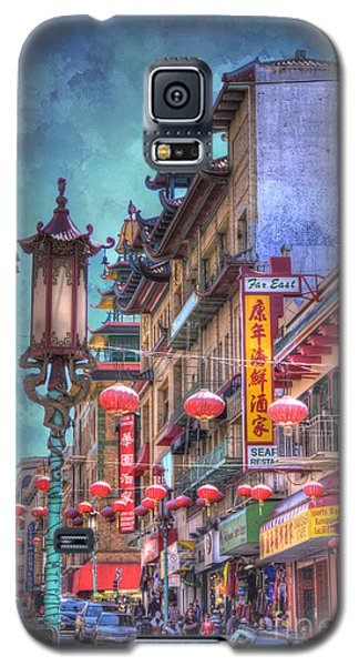 San Francisco Chinatown Galaxy S5 Case
