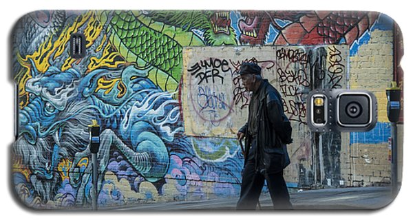 San Francisco Chinatown Street Art Galaxy S5 Case