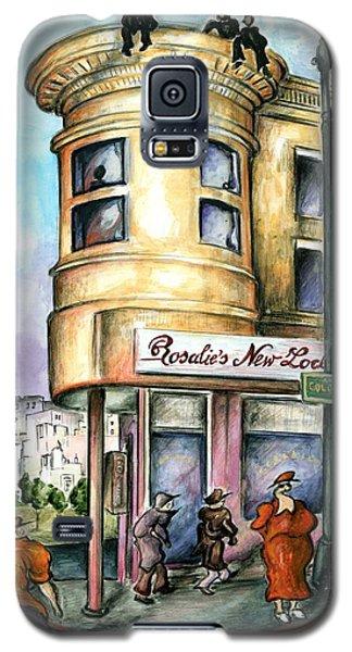 San Francisco North Beach - Watercolor Art Painting Galaxy S5 Case