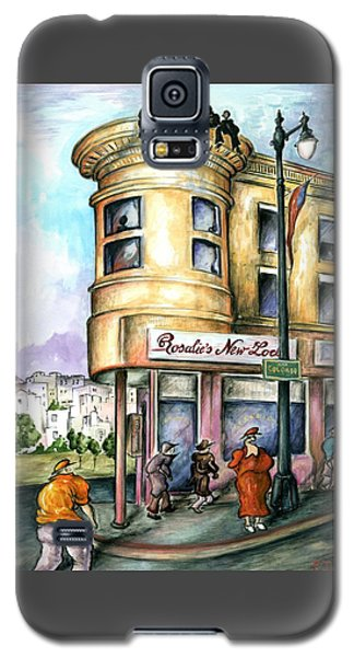 San Francisco North Beach - Watercolor Art Painting Galaxy S5 Case