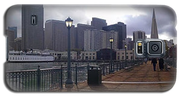 San Francisco From Pier Galaxy S5 Case by Haleh Mahbod