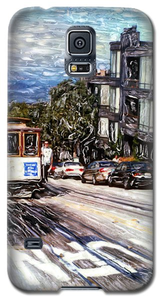 San Francisco Hyde Street Cable Car Galaxy S5 Case