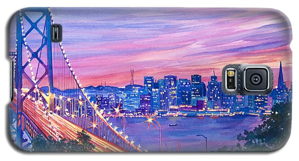 San Francisco Nights Galaxy S5 Case