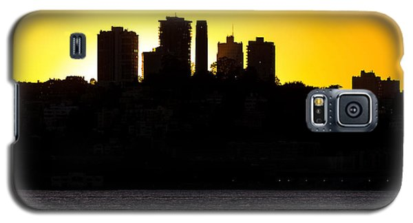 San Francisco Silhouette Galaxy S5 Case