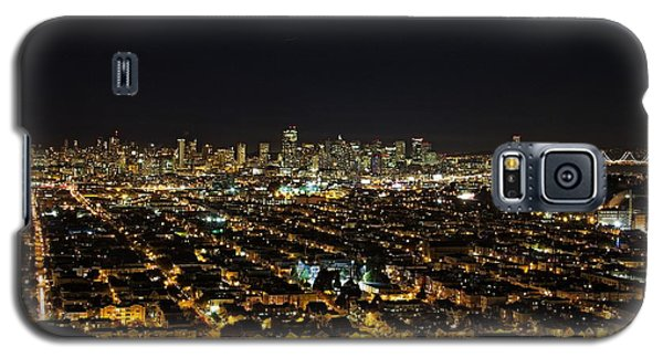 Galaxy S5 Case featuring the photograph San Francisco Skyline by Dave Files