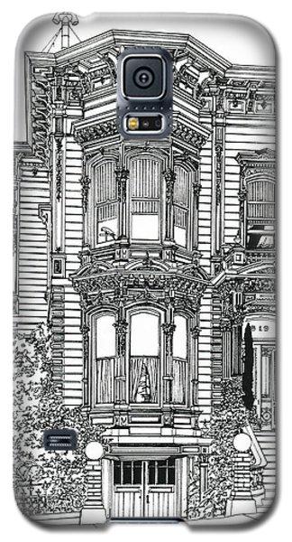 San Francisco Victorian   Galaxy S5 Case