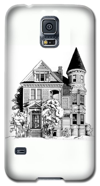 San Francisco Victorian Galaxy S5 Case