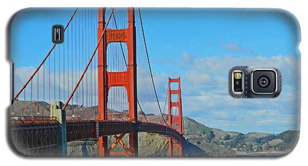 San Francisco's Golden Gate Bridge Galaxy S5 Case by Emmy Marie Vickers