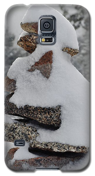 Galaxy S5 Case featuring the photograph San Jacinto Balanced Rocks by Kyle Hanson
