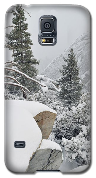 Galaxy S5 Case featuring the photograph San Jacinto Winter Wilderness by Kyle Hanson
