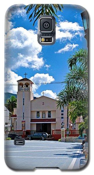 San Joaquin Catholic Church Galaxy S5 Case by Ricardo J Ruiz de Porras