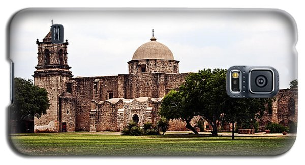 Galaxy S5 Case featuring the photograph San Jose Mission by Andy Crawford