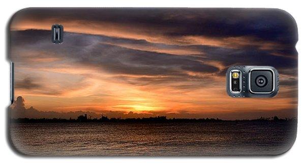Galaxy S5 Case featuring the photograph San Juan Bay by Ricardo J Ruiz de Porras